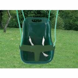 Siège bébé vert - accessoire balançoire