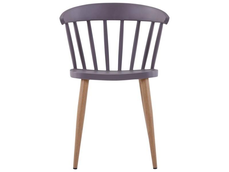 Icaverne chaises de cuisine selection 2 pcs chaises de