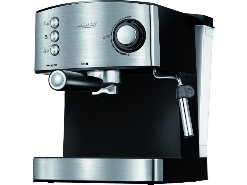 Mpm - machine à espresso en acier inoxydable - café moulu en grains