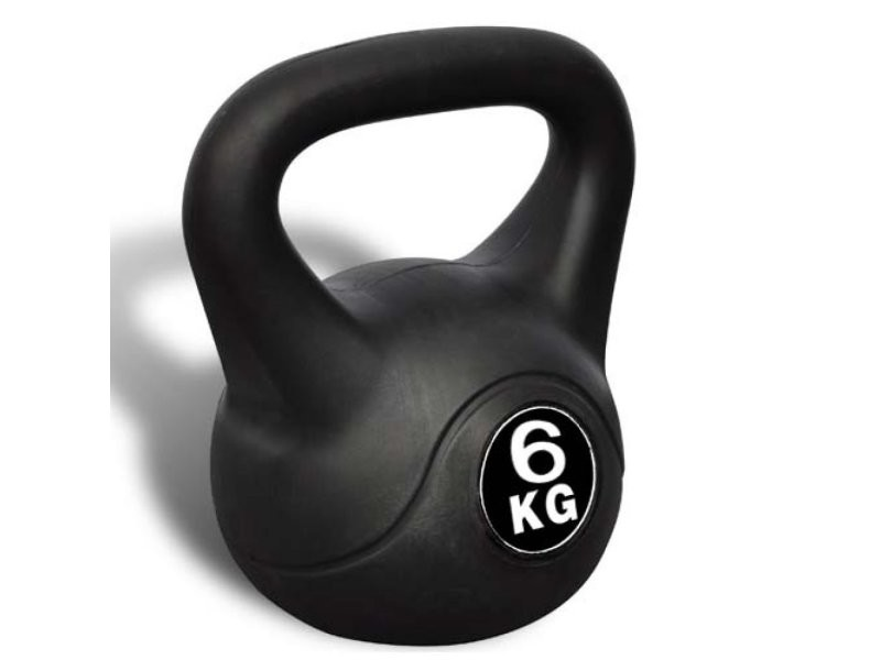 Kettlebell haltère poids musculation haltérophilie exercices gym 6 kg helloshop26 0702042