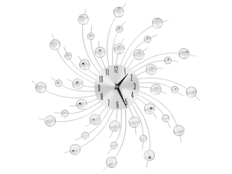 Horloge murale avec mouvement à quartz design moderne 50 cm dec022274