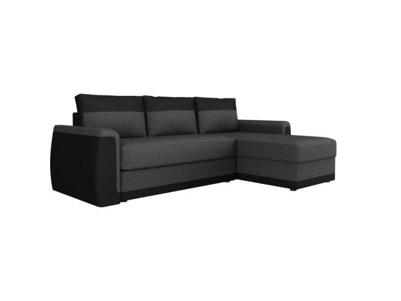 Canape D'angle James Convertible 3 Canapé Places Divan Sofa 0OXwPk8n