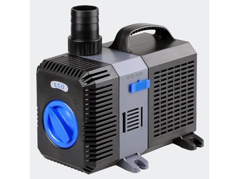 Pompe à eau de bassin filtre filtration cours d'eau eco 7000l/h 50 watts helloshop26 4216028