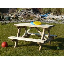 Table pic nic pour enfants - 0.89 x 0.91 x 0.57 m