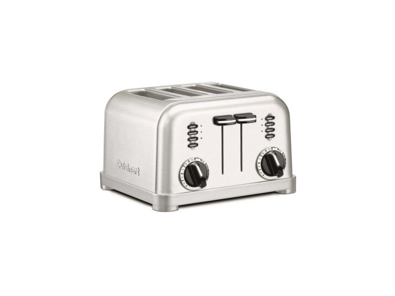 Grille pain/toaster cuisinart cpt180e