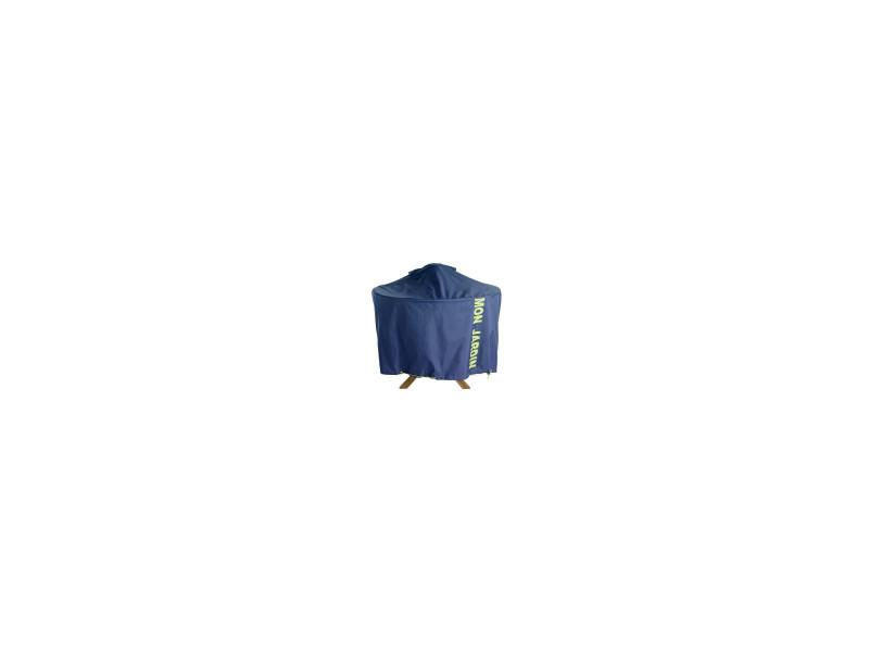 Housse de protection table de jardin ronde 120 cm - Vente de ...