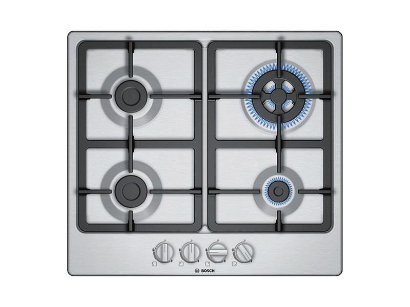 Plaques de cuisson admirable plaque au gaz bosch pgh6b5b90 60 cm (4 feux à gaz)