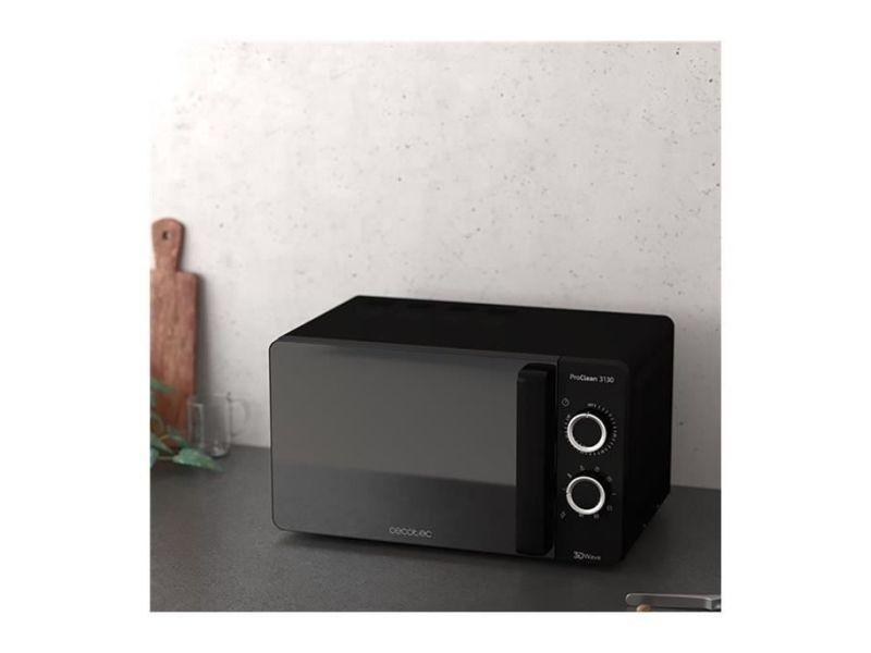 Micro-ondes de 20l avec minuterie 1150w noir