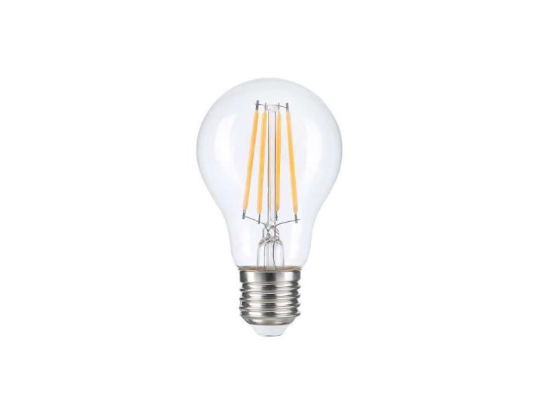 Ampoule led a60 filament 8w dimmable e27 blanc chaud 2700k SP1323