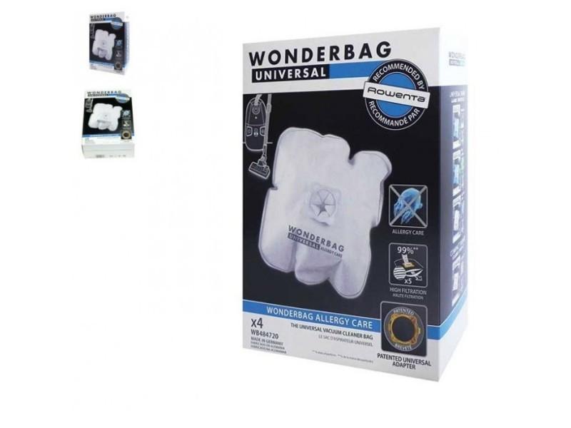 Sacs wonderbag (x4) pour aspirateur rowenta