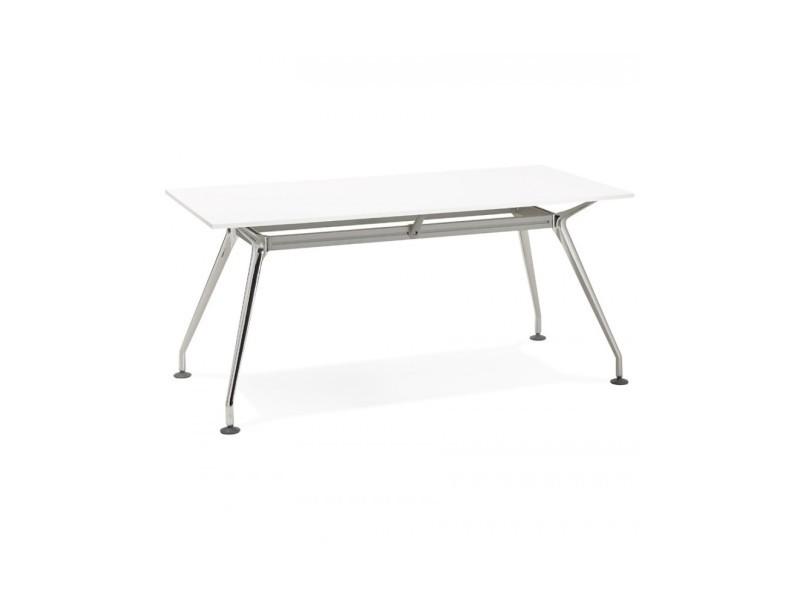 Bureau design krush 160 white 80x160x74,5 cm