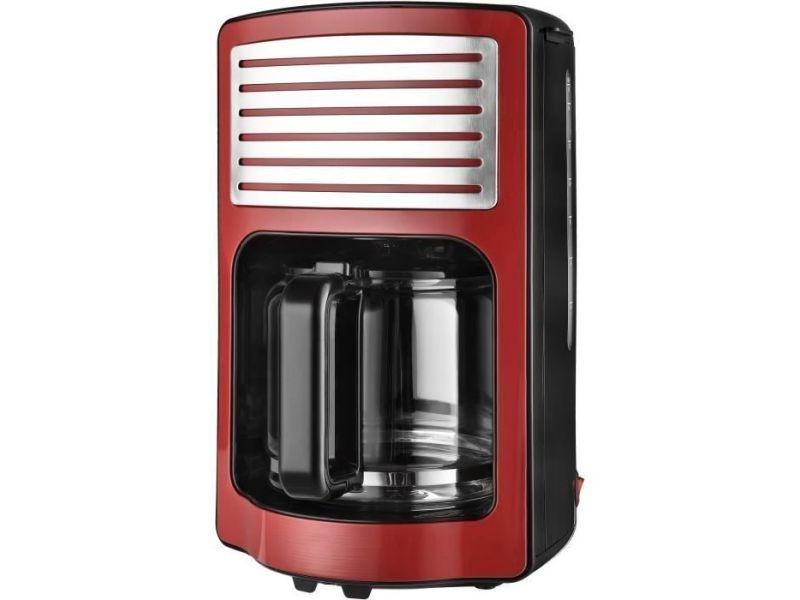 Kalorik tkgcm2500r cafetiere - capacite 1,8 l - 1000 w - rouge et noir KAL5413346340108