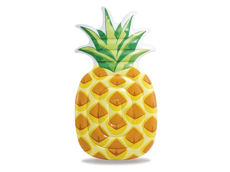 Matelas de piscine ananas - intex