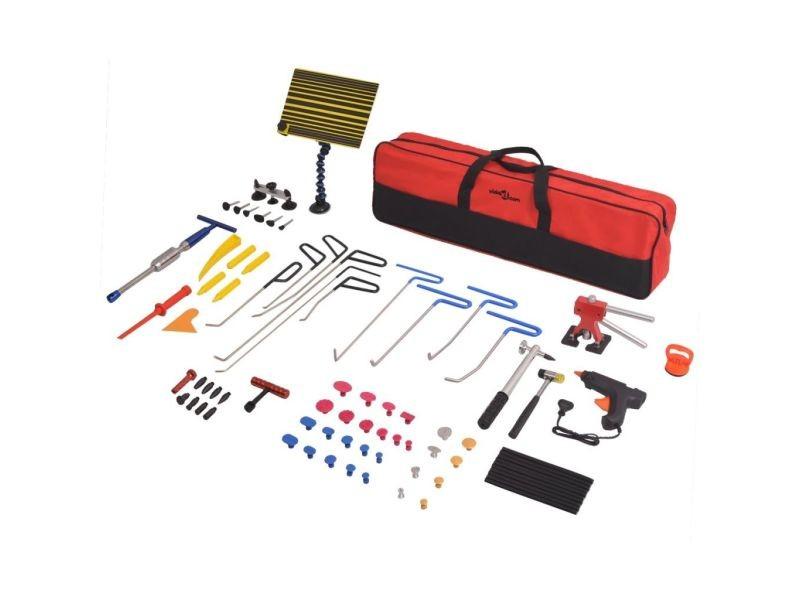 Superbe equipement et outils de garage edition antananarivo kit de débosselage sans peinture pdr 80 pcs acier inoxydable