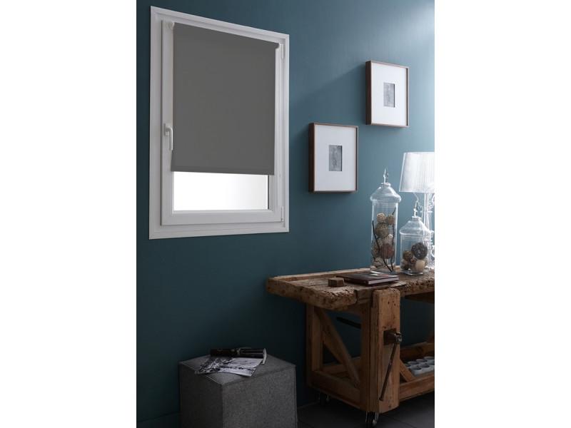store enrouleur occultant sans percer ni visser 67 x 190cm vert foug re vente de madeco. Black Bedroom Furniture Sets. Home Design Ideas