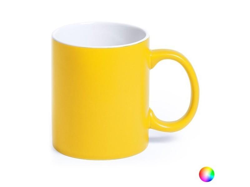 Tasses et thermos stylé couleur rouge tasse en céramique (350 ml) bicolore 145291