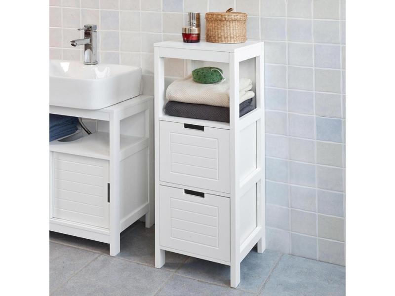 Meuble colonne meuble bas de salle de bain armoire - Meuble colonne salle de bain conforama ...