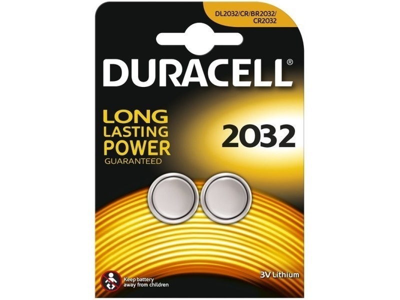 Duracell - blister 2 piles electronics 2032 092420392