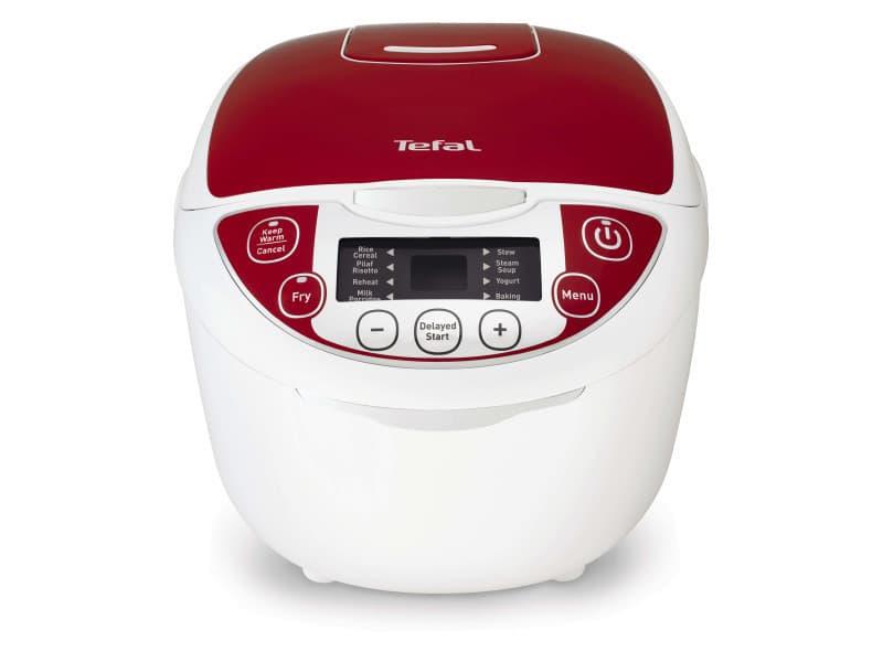 Tefal rk7051 1.8l 750w rouge, blanc appareil multi-cuisson