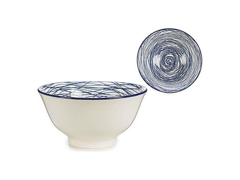 Assiettes, plats et plateaux inedit bol bleu porcelaine ø 16 cm