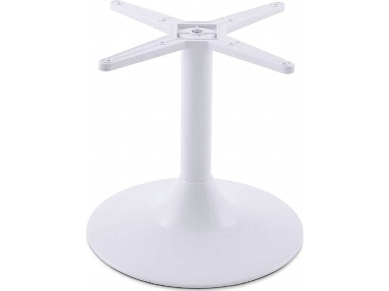 Pied de table 45 cm embase ronde TB00220WH