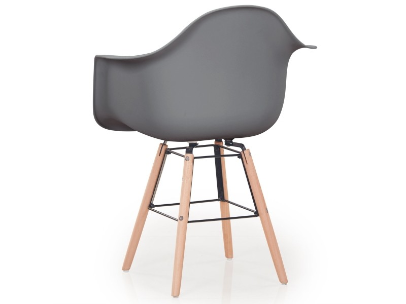 lot de 4 chaises scandinaves ralf gris vente de chaise. Black Bedroom Furniture Sets. Home Design Ideas
