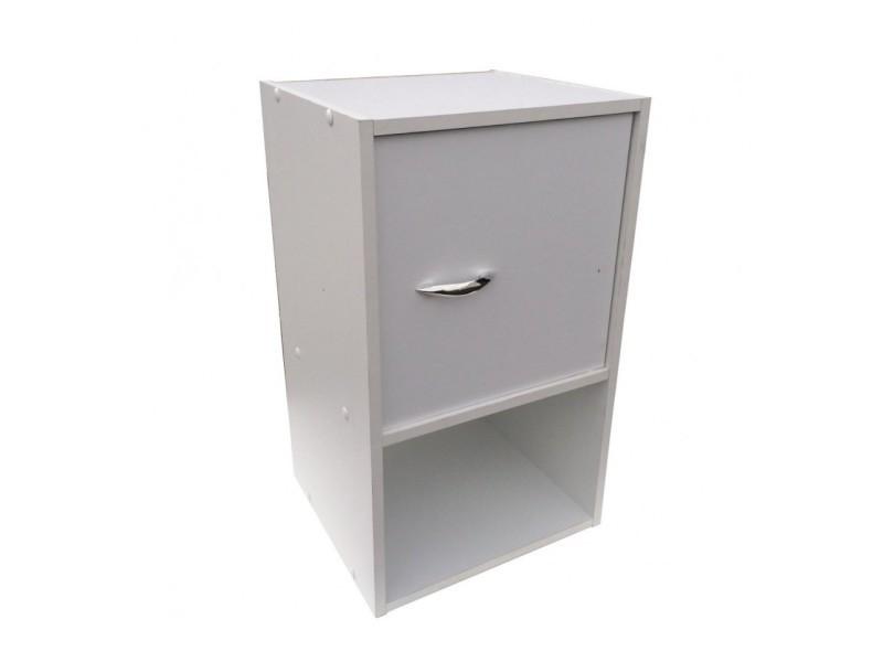 meuble haut 1 porte 1 niche vente de meuble tv conforama. Black Bedroom Furniture Sets. Home Design Ideas