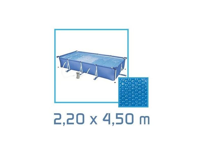 Bâche à bulles rectangle 2,20 x 4,50m 180 microns