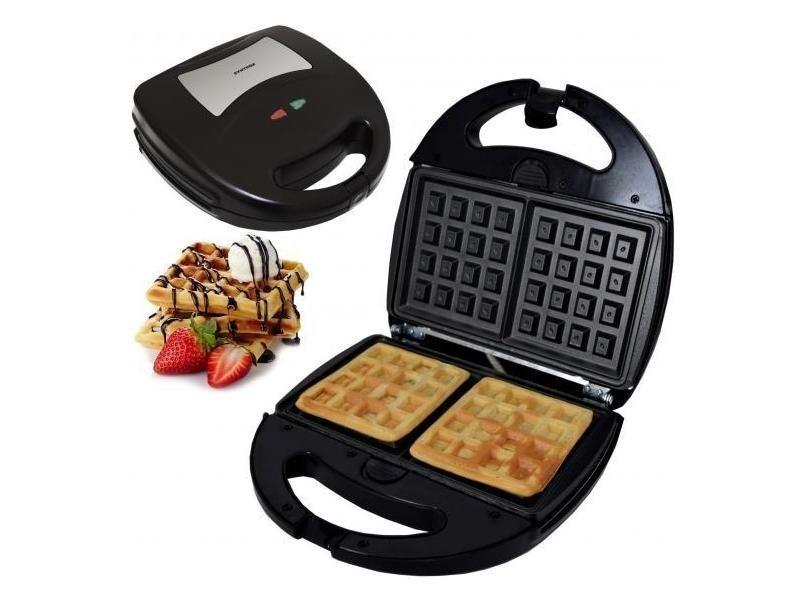 Gaufrier pour gaufres belges avec plaques de cuisson interchangeables sm-1300w