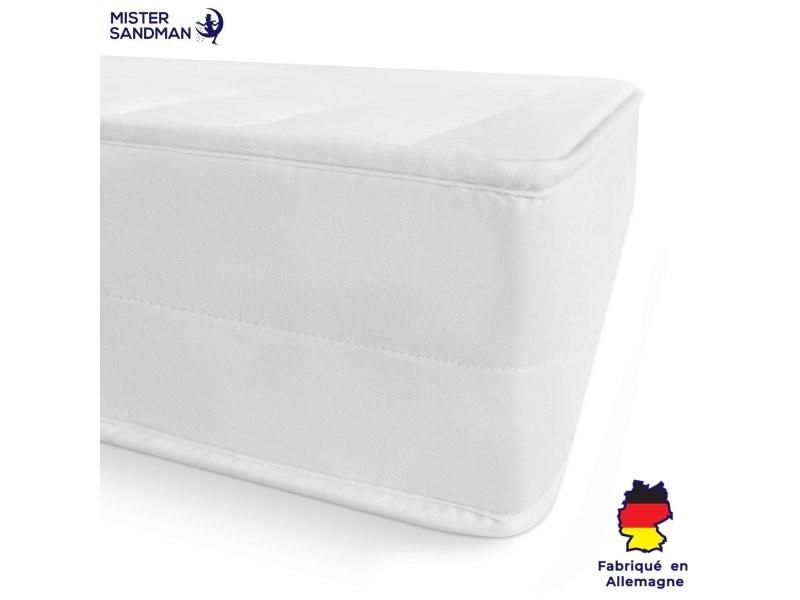 Matelas 70 x 200 cm matelas confort sommeil réparateur mousse 7 zones de confort pas cher matelas réversible, épaisseur 15 cm