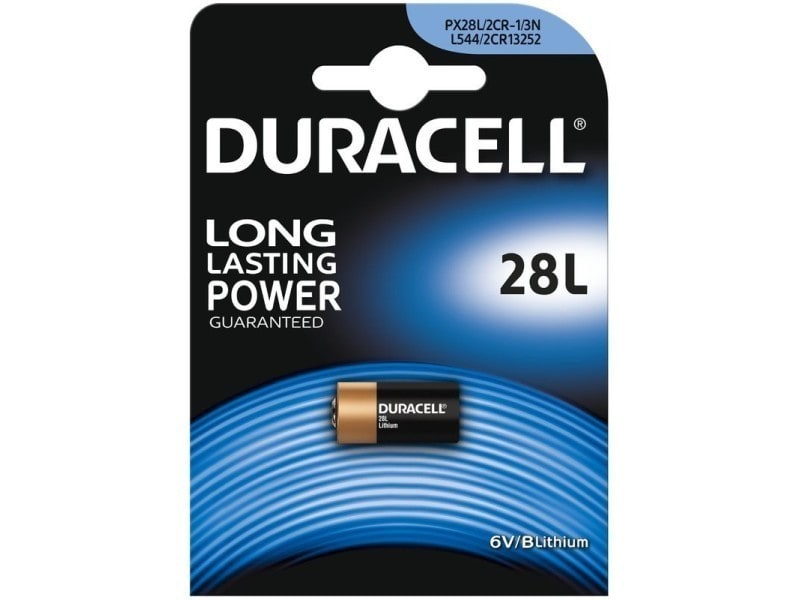 Duracell - blister 1 pile photo 28l 092400283
