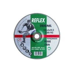 Outifrance - disque à tronçonner ø 125 mm (matériaux moyeu déporté)