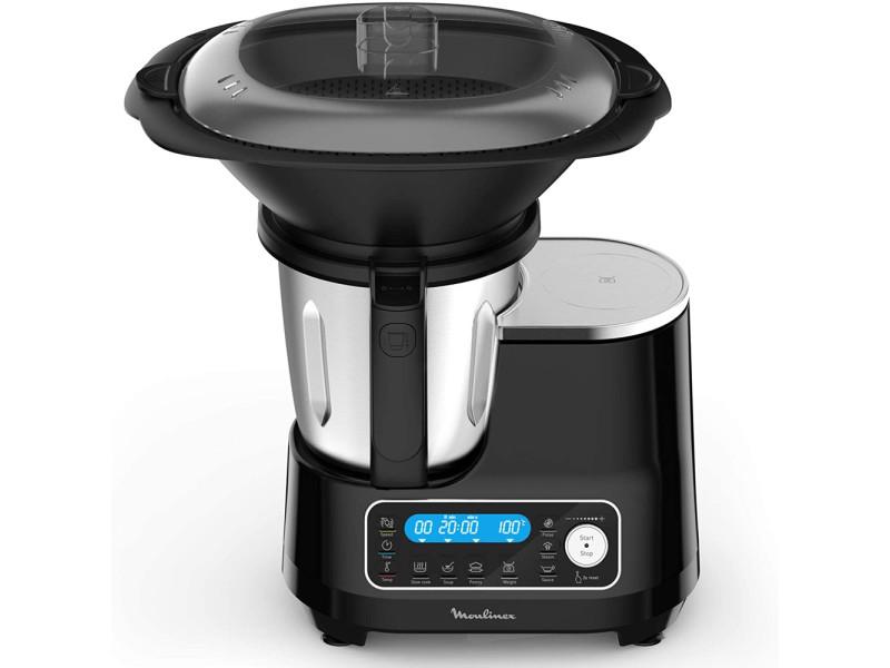Hf456810 clickchef robot cuiseur multifonction 5 programmes automatiques robot cuisine compact 25 fonctions balance … MOUHF456810