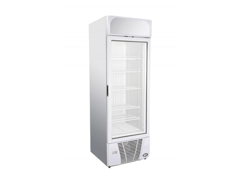 Armoire réfrigérée négative ventilée porte vitrée - 496 l - afi collin lucy - r290 1 porte vitrée
