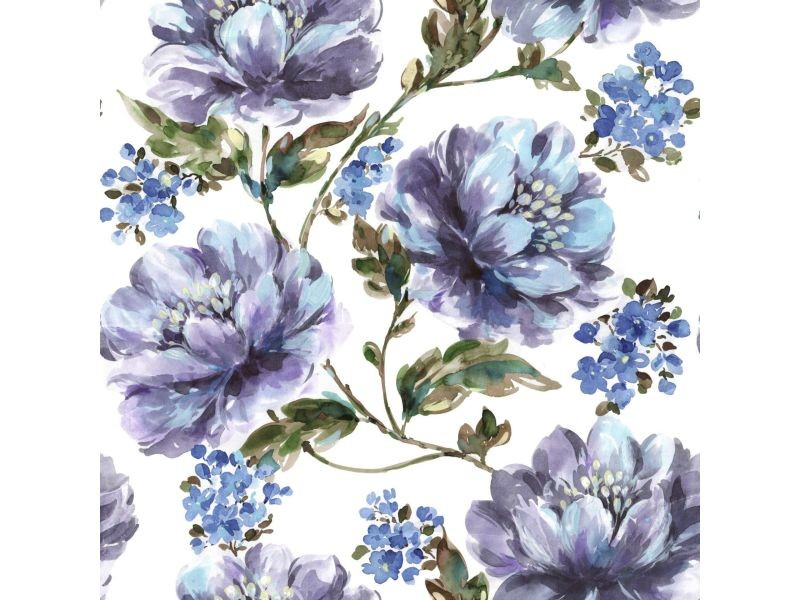Papier peint intissé stefanie 1005 x 52cm bleu 2245-40