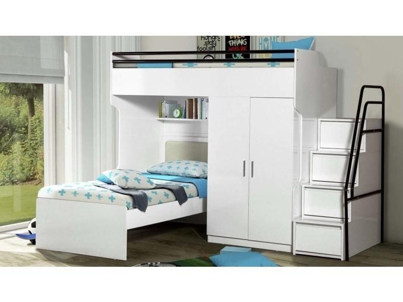 lits superposes buhl vente de lit enfant conforama. Black Bedroom Furniture Sets. Home Design Ideas