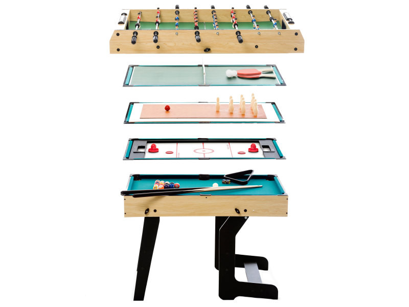 Et 1 BillardBabyfoot Multi Jeux En Vente De Table Pliable 16 dhCtsQrx