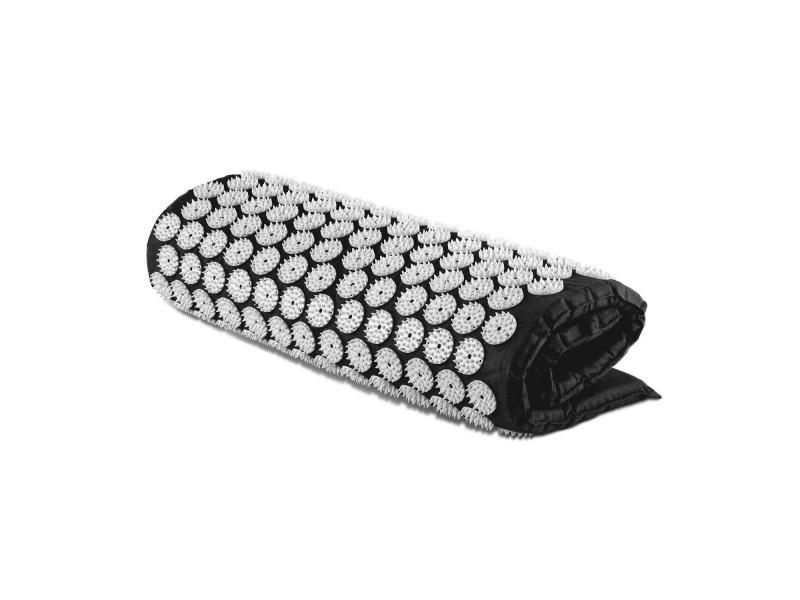 Capital sports eraser tapis yantra pour auto-massage / acupression 80 x 50 cm - noir FIT20-Easer