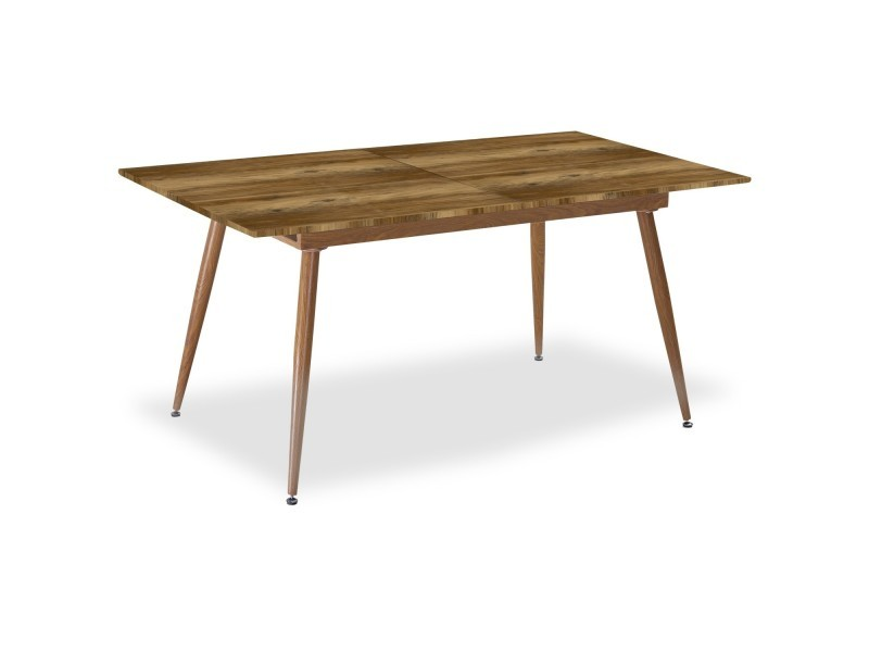 Table Extensible Scandinave Betty Chene 6 A 8 Personnes Conforama
