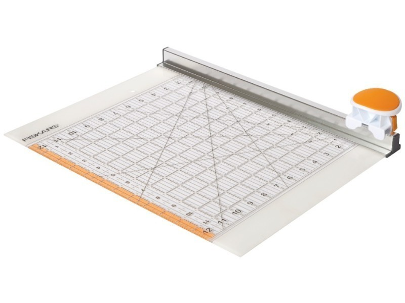 Fiskars - combiné cutterrotatif (ø45 mm) et règle (12\