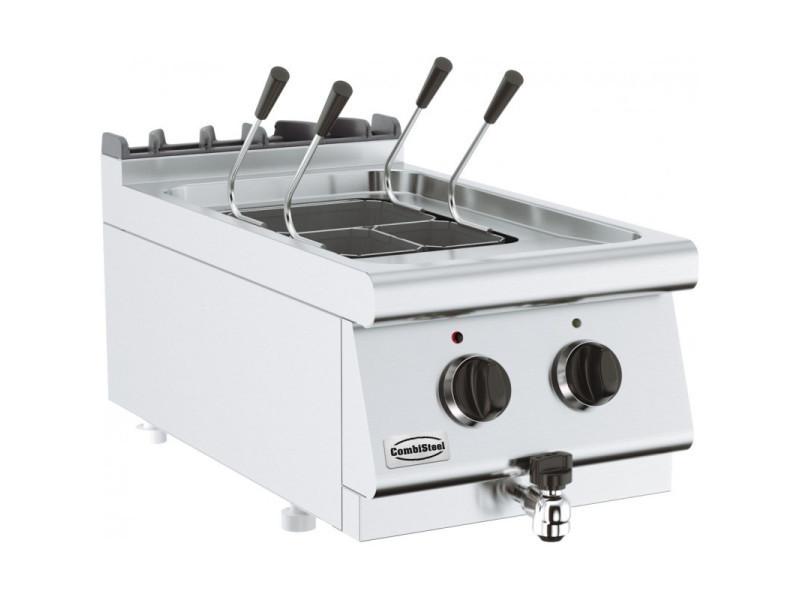 Cuiseur à pâte professionnel - profondeur 700 - 14 litres - combisteel - 700