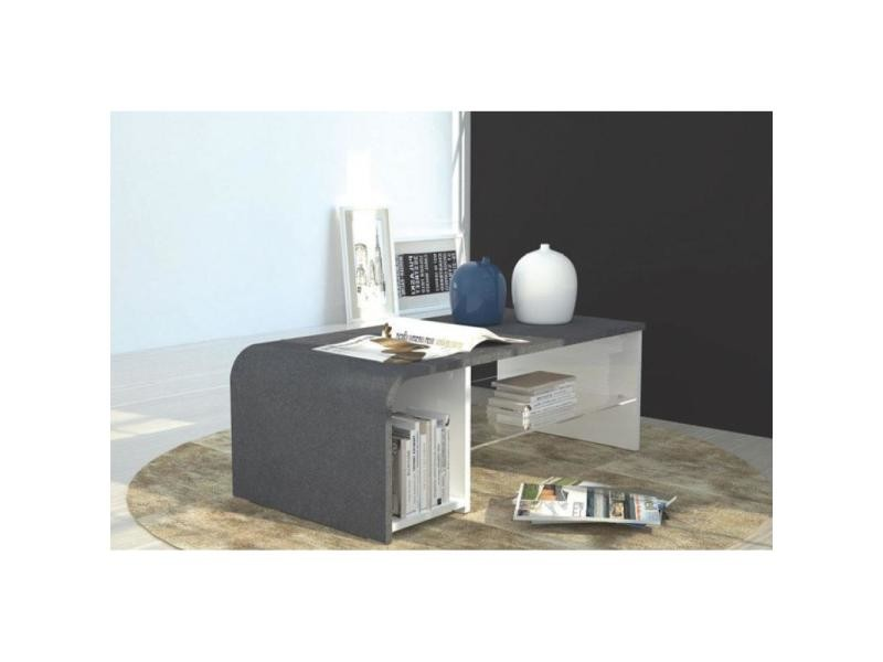 table basse meuble tv s time design effet marbre 20100848006 conforama. Black Bedroom Furniture Sets. Home Design Ideas