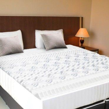 surmatelas mousse m moire de forme 10 zones 160x200 cm vente de id market conforama. Black Bedroom Furniture Sets. Home Design Ideas