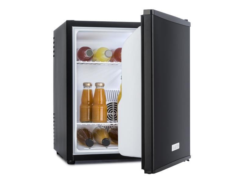 Klarstein minibar réfrigérateur à boissons 40 litres 2 étagères classe a- noir