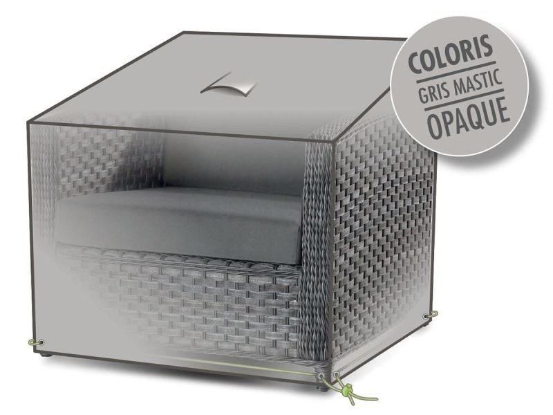 housse de protection pour fauteuil de jardin vente de jardideco conforama. Black Bedroom Furniture Sets. Home Design Ideas
