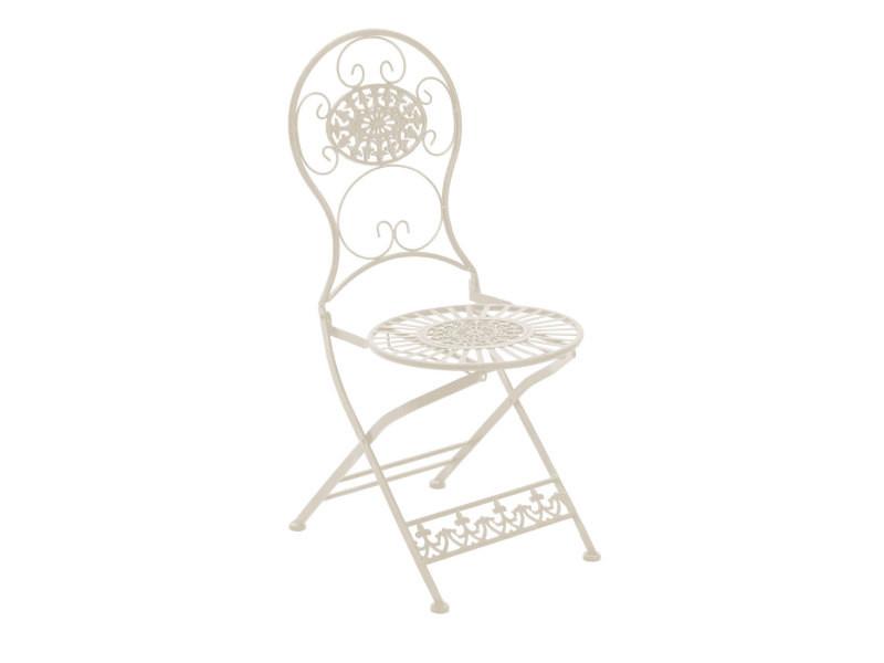 Joli chaise de salle à manger, de cuisine, de salon exterieur en fer vientiane