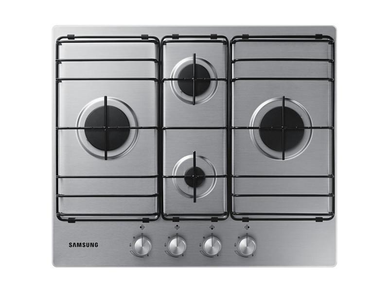 samsung na64h3110bs int gr cuisini re gaz acier inoxydable plaque na64h3110bs vente de. Black Bedroom Furniture Sets. Home Design Ideas