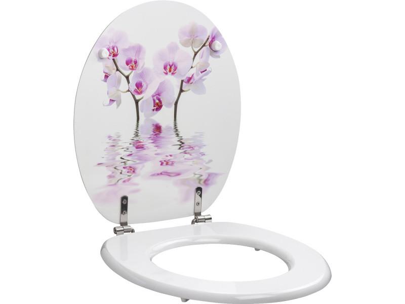 bain Salle de bain WC et accessoires wc Abattant allibert  orchidée