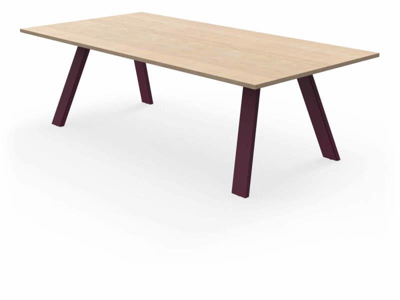 Table treto violet prune Ta_TRE_Rect240x120_h75_Pru