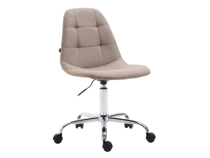 Inedit chaise de bureau, fauteuil de bureau reims en tissu